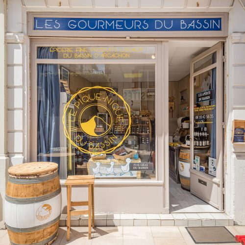 Devanture magasin Le Bassin d'Arcachon